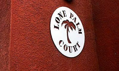 Lone Palm Court Apartments, 1