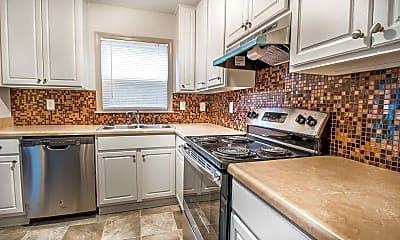 Kitchen, Edgemoor Townhomes, 1