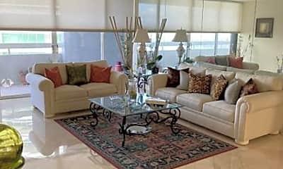 Living Room, 1627 Brickell Ave, 0