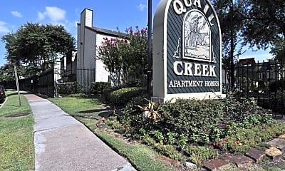 Community Signage, Quail Creek, 2
