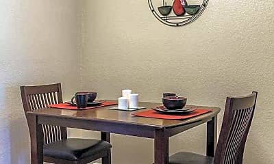 Dining Room, Bison Apartments, 2