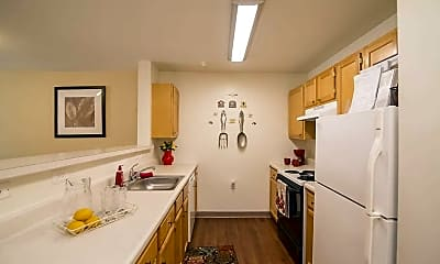 Kitchen, Marwood Senior Apartments - 62+, 1