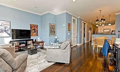 Living Room, 1037 S Racine Ave, 2