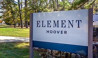 Community Signage, Element Hoover, 2