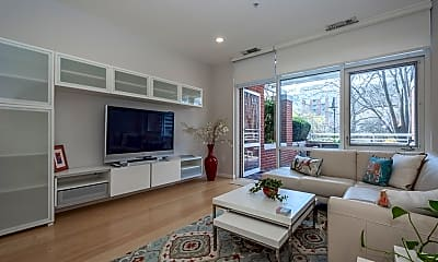 Living Room, 6 Canal Park 105, 0