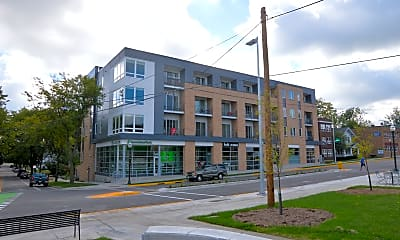 Building, Oakland on Monroe, 1
