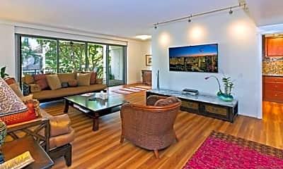Living Room, 4999 Kahala Ave 325, 0