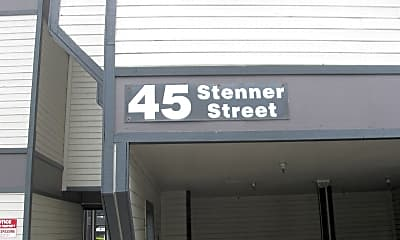 Community Signage, 45 Stenner St, 1