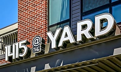 Community Signage, 1415 @ The Yard, 1