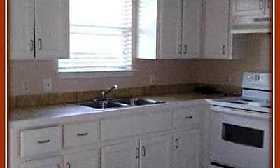 Kitchen, Palm Tree Apartments, 2