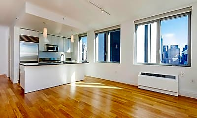 Living Room, 552 W 54th St, 1
