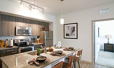 Kitchen, Park Avenue Apartments, 1