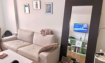Living Room, 1420 N St NW 810, 1
