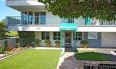 Building, Villa Pacific, 1