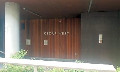 Cedar Apartments, 1