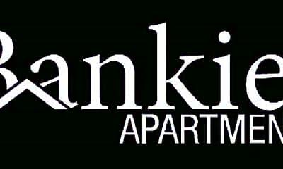 Community Signage, Bankier Apartments, 2