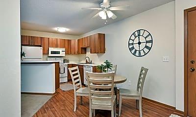 Kitchen, Westwind Apartments, 0