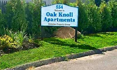 Community Signage, Oak Knoll Apartments, 2