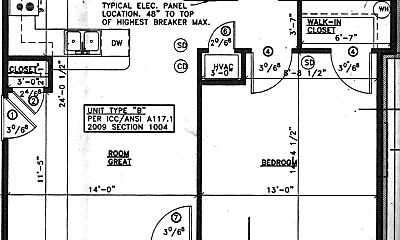Bedroom, 2530 Scottsville Rd, 2