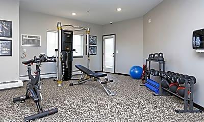 Fitness Weight Room, 3200 Old Stone Way NE, 2