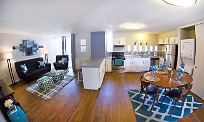 Living Room, Skyline Villas, 0