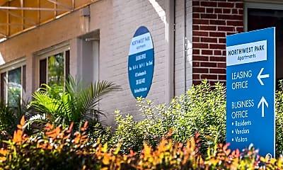 Community Signage, Northwest Park, 1