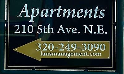 Community Signage, 210 5th Ave NE, 2