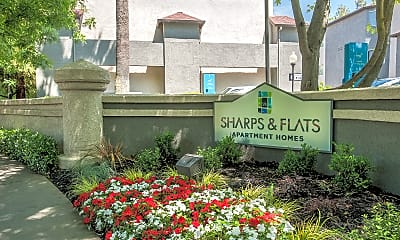 Community Signage, Sharps & Flats, 2