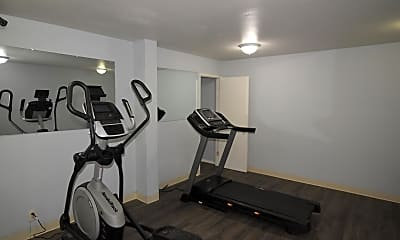 Fitness Weight Room, 5800 SW Erickson Ave, 2