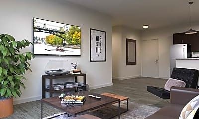 Living Room, The Gather Bellingham (Available Now & Pre-Leasing For 2018), 1