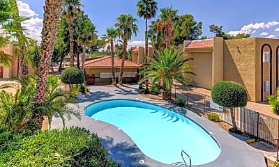 Pool, Intrigue Apartments, 0