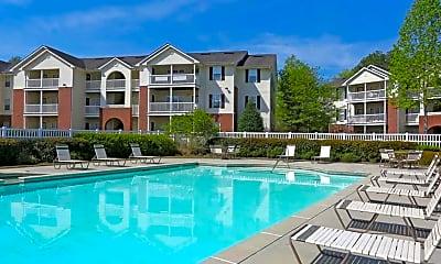 Pool, Ten68 West Apartments, 2