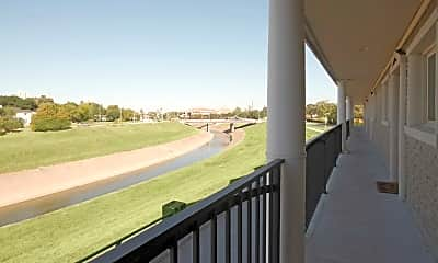 Patio / Deck, Appian Way Apartments, 0