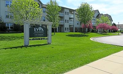 Community Signage, Evia Senior Apartments, 1