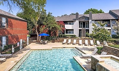 Pool, Colonial Village At Grapevine, 1