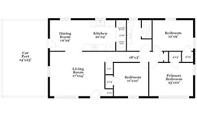 Building, 4067 Garden Cir, 1
