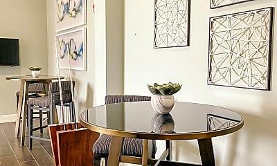 Dining Room, Flats at Springhurst, 2