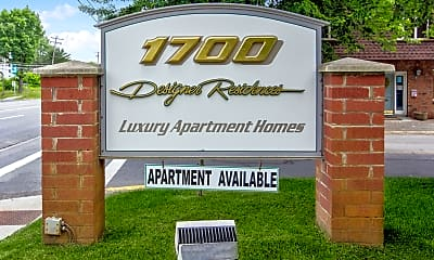 Community Signage, Seventeen Hundred Designer Residences, 2
