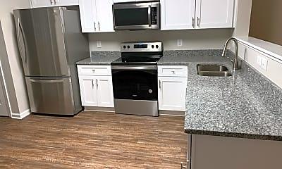 Kitchen, 408 East 6th Avenue, Unit A, 1