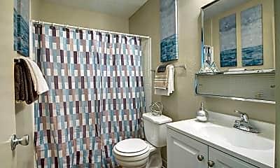 Bathroom, Hudson Apartments, 2