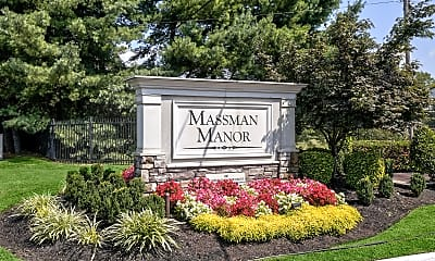 Community Signage, Massman Manor/Starlight Apartments, 2