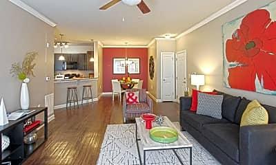 Living Room, Wellsley Park At Deane Hill, 1