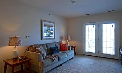Living Room, Willoughby Hills Senior Apartments, 1