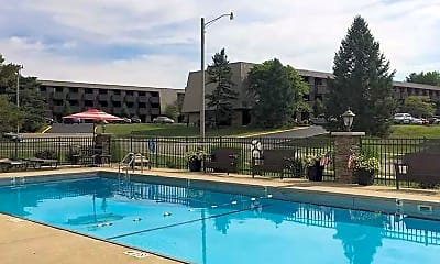 Pool, West Mound Apartments, 0