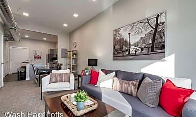 Bedroom, 300 S. Logan Street, 2
