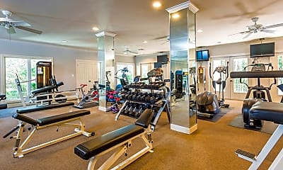 Fitness Weight Room, Somerset Townhomes, 2