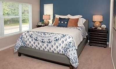 Bedroom, The Liberty Apartments & Townhomes, 2