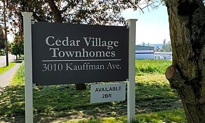 Community Signage, 3010 Kauffman Ave, 0