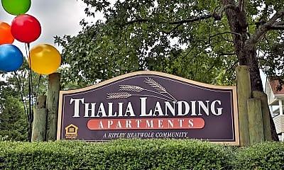Landscaping, Thalia Landing, 2