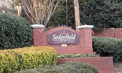 Community Signage, Sedgefield Apartments, 2